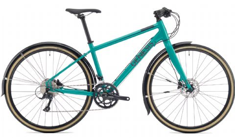 Genesis Skyline 20 Womans Urban Bike Blue/Green 2018